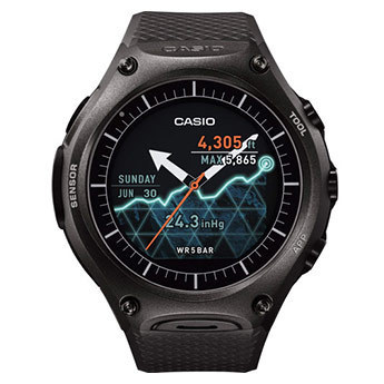 Casio Android-Wear-Smart Outdoor Watch WSD-F10 BK